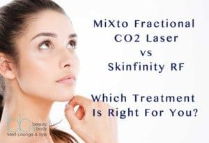 MiXto Fractional CO2 Laser vs Skinfinity RF - Beauty and